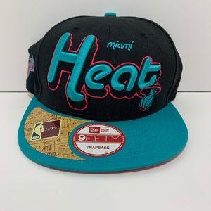 New Era 9Fifty Hardwood Classic Miami Heat
